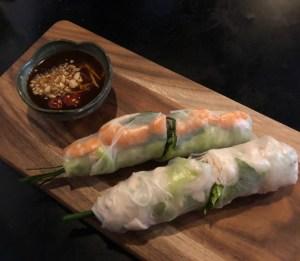 Twenty Pho Seven - rice paper rolls