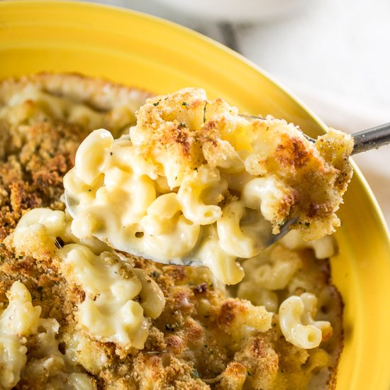 Gruyère and White Cheddar Mac and Cheese