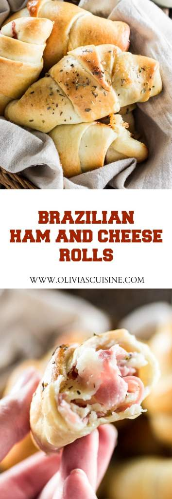 Brazilian Ham and Cheese Rolls | www.oliviascuisine.com | A delicious ...