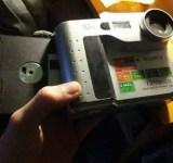 camera digital antiga de disquete