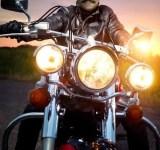 O motoqueiro Bigodudo
