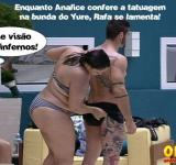 big brother brasil 12 yure, rafa, analice