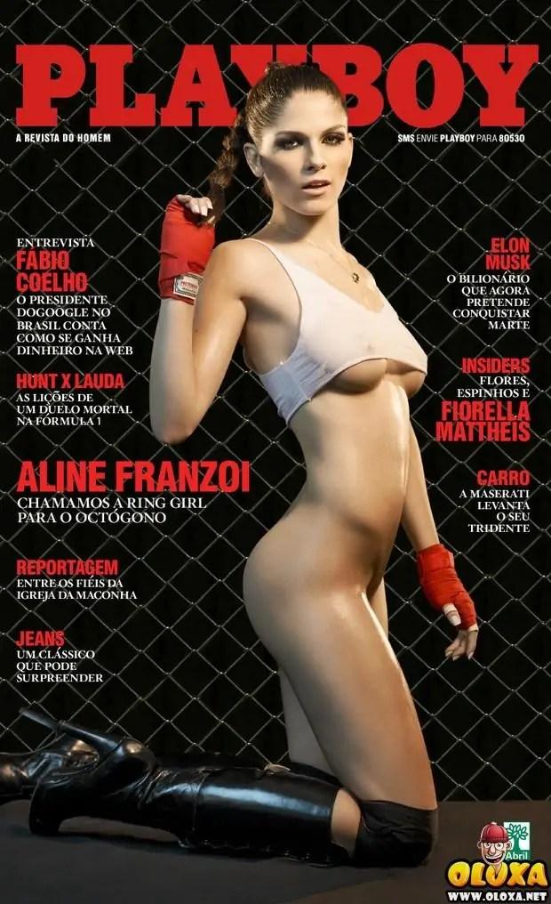 Playboy de Setembro - Aline Franzoi