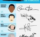 17 mais legais assinaturas de famosos