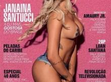 Playboy de Junho - Janaina Santussi - A Dj mais gostosa do Brasil (1)
