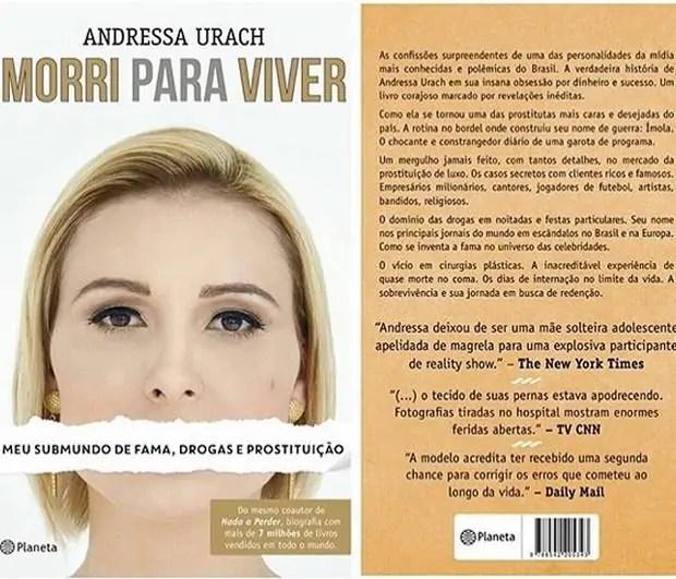 Andressa Urach revela que teve orgasmo com cachorro
