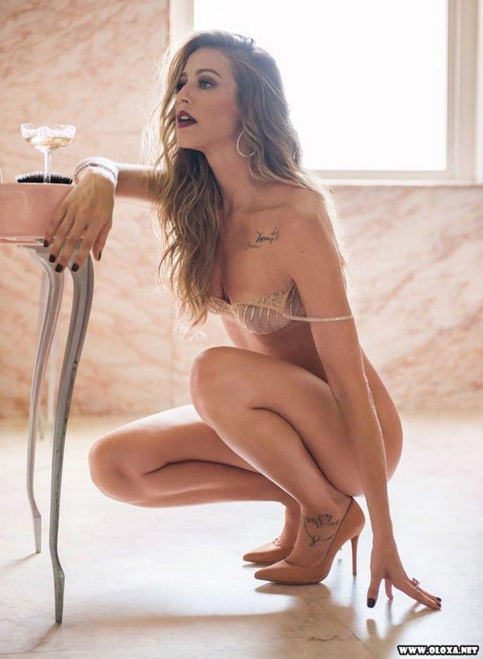 Luana Piovani nua na Playboy