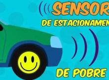Sensor de estacionamento de pobre