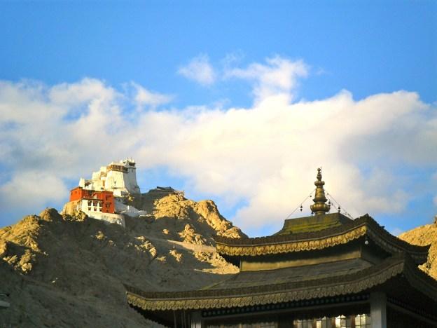 Tsemo temple