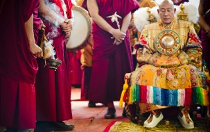 His Holiness the Dalai Lama's visit to Bodhgaya to confer the 32nd Kalachakra empowerment in January, 2012.