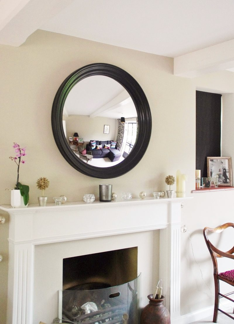Fullsize Of Large Round Mirror