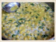 chickpea in lemon butter1