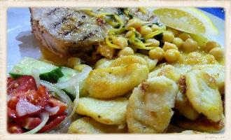tuna & gnocchi feature