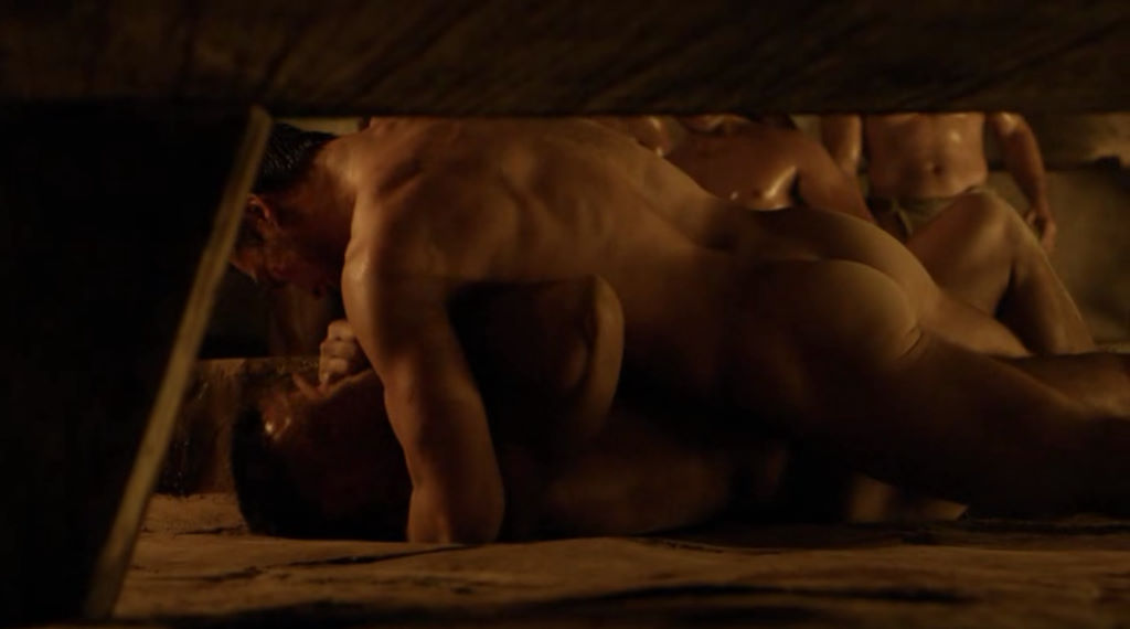 spartacus nude men