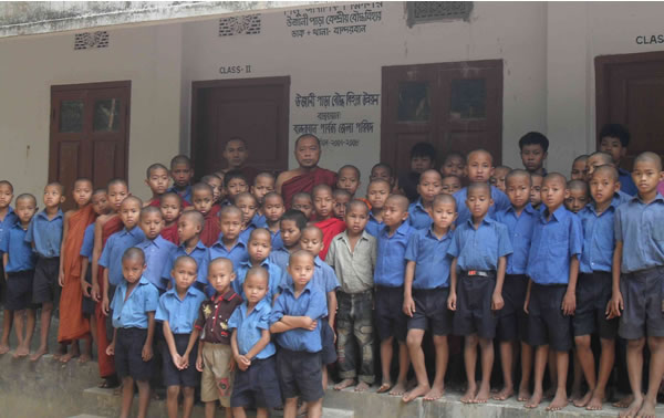 The children at Padamu