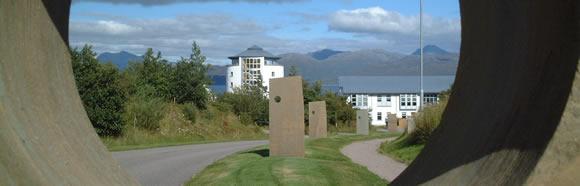 Sabhal Mòr Ostaig, the Gaelic college on the Isle of Skye