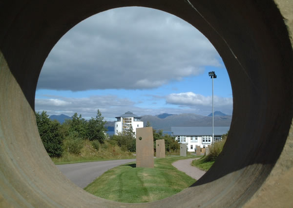 A view of the Sabhal Mòr Ostaig campus