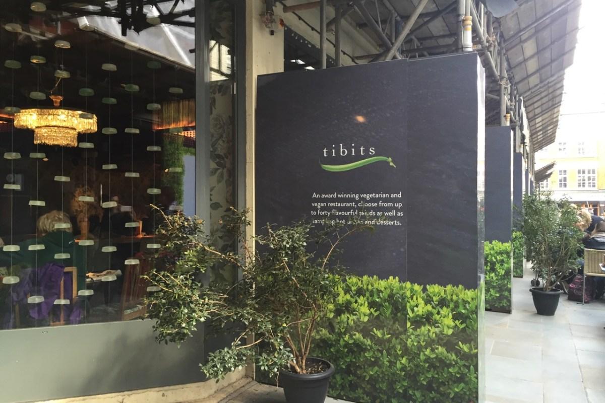Restaurante natureba em Londres