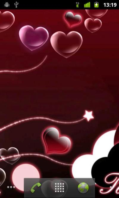 Valentine Heart Live Wallpaper Android Personalization best android apps free download