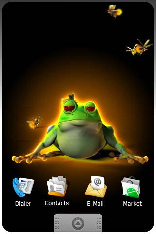 FROG live wallpapers Android Multimedia best android apps free download