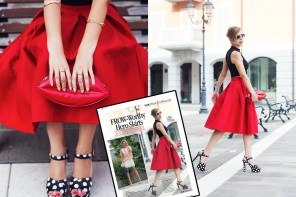 LOOK Magazine feat. Once Upon a Time | My red skirt + Happy birthday to me!