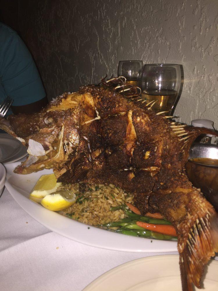 Hogfish; Chef Michael's; Islamorada; Florida Keys