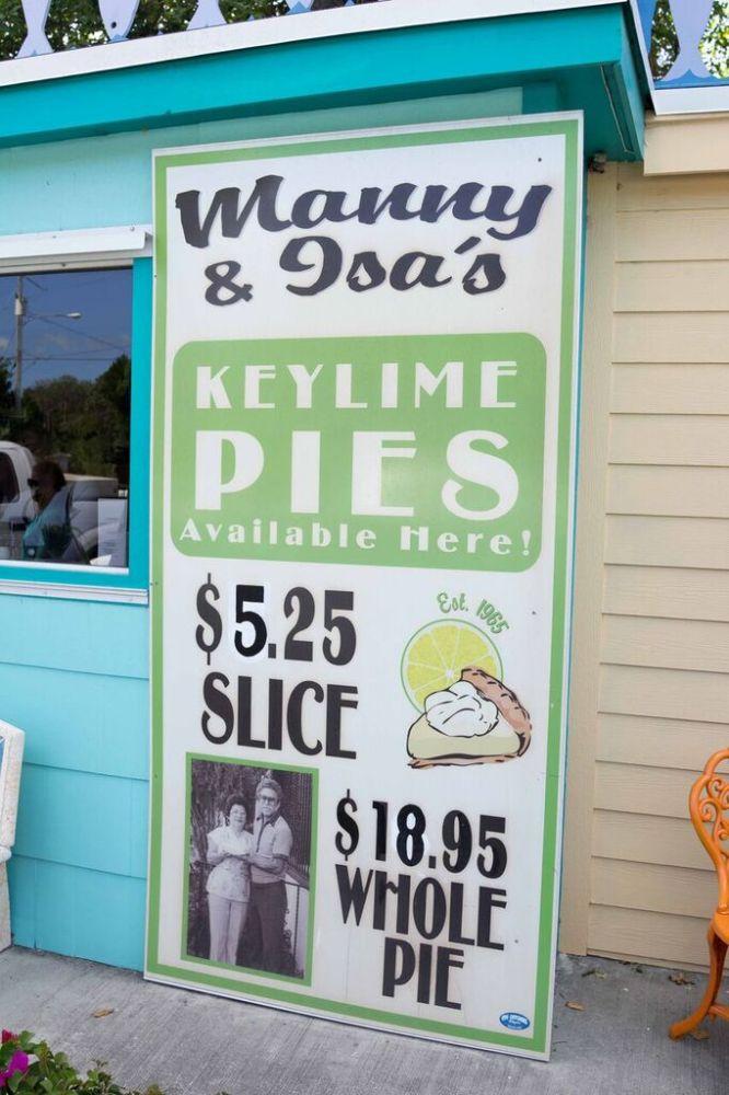 Islamorada; Midway Cafe; The Keys; Key Lime Pie