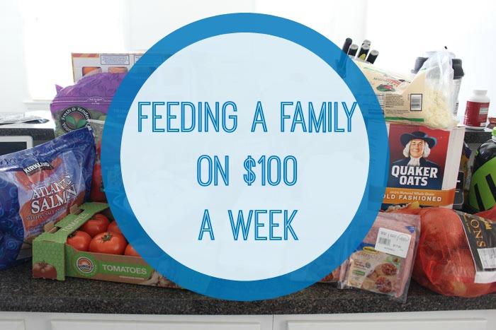 Feeding a Family of 3 on $100/week?!?