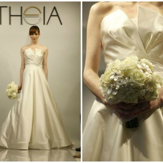 Theia White Bridal Collection Spring 2014