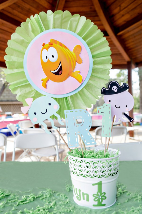 Bubble Guppies Themed Party