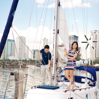 Nautical Themed Engagement From CamZar Photography