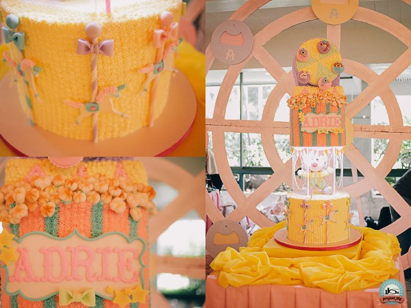 Vintage Carnival Birthday Party - 08