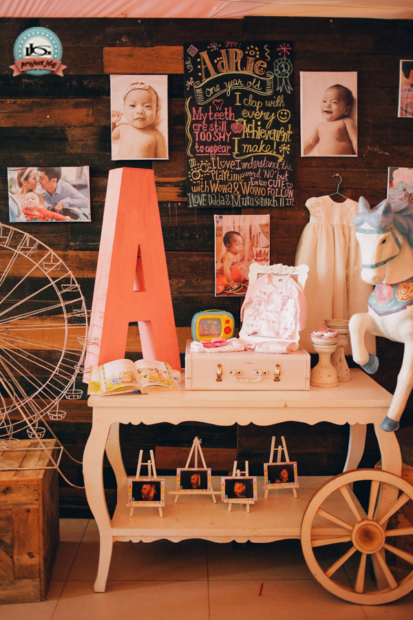 Vintage Carnival Birthday Party - 26
