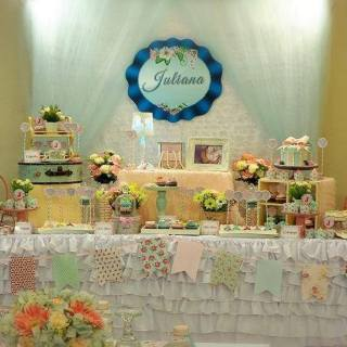 Cath Kidston Inspired Dessert Buffet by Sweet Creations by Mums