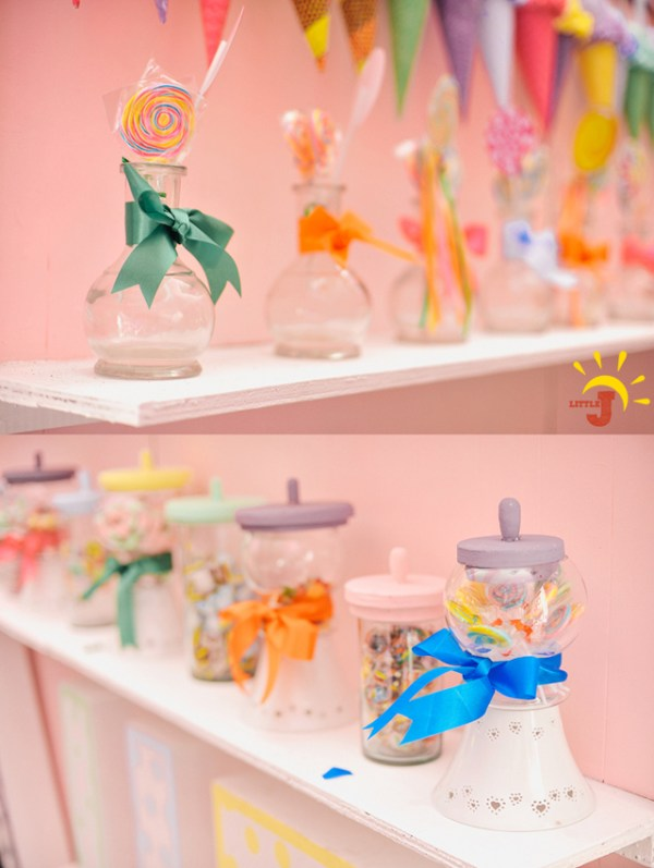 Candy Themed Birthday Party