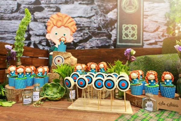Brave Themed Birthday Party - 22