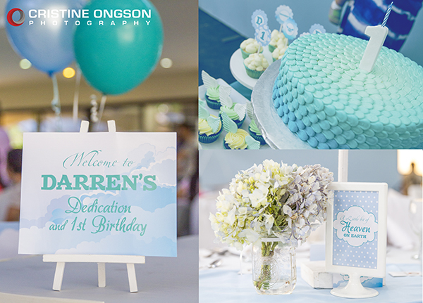 Heaven and Angel Themed Birthday Party - 02