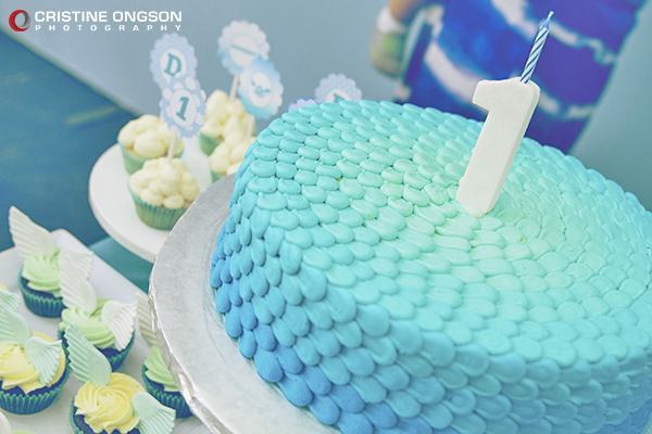 Heaven and Angel Themed Birthday Party - 16