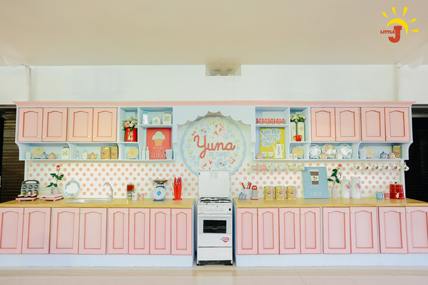 Retro Kitchen Inspired Party