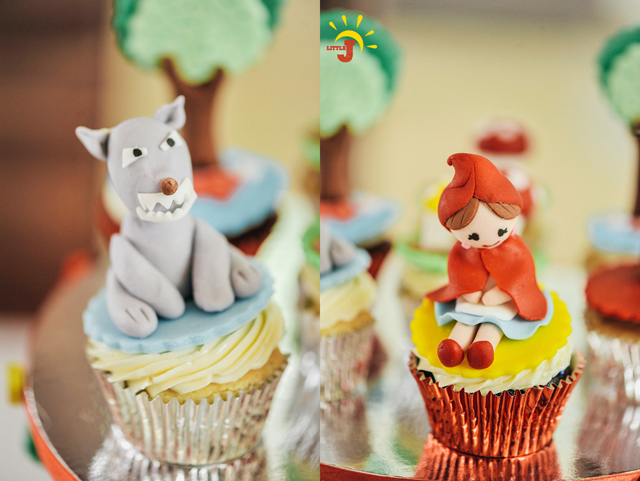 Little Red Riding Hood Birthday Party - 36