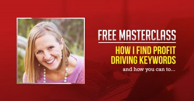 Free Webinar - How To Find Profit Driving Keywords with Lindsey Anderson