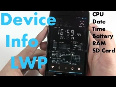 Device Info Live Wallpaper – Go Beyond Aesthetic Appeal | One Click Root