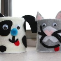 Yogurt Container Animals