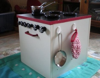 Play Kitchen Hacks