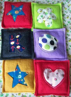 How to Make Reverse Applique Beanbags