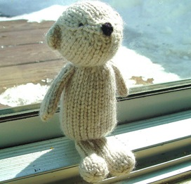 Knitted Bear Pattern