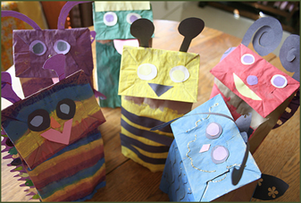ourbigearthpaperbagpuppets