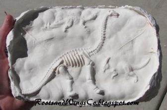 Homemade Dino Fossils