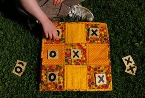 9-Patch Tic-Tac-Toe Board
