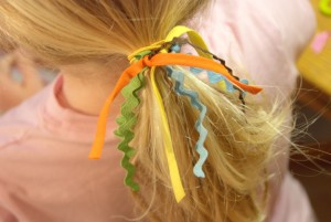 Make Your Own Scrappy Hair Ties